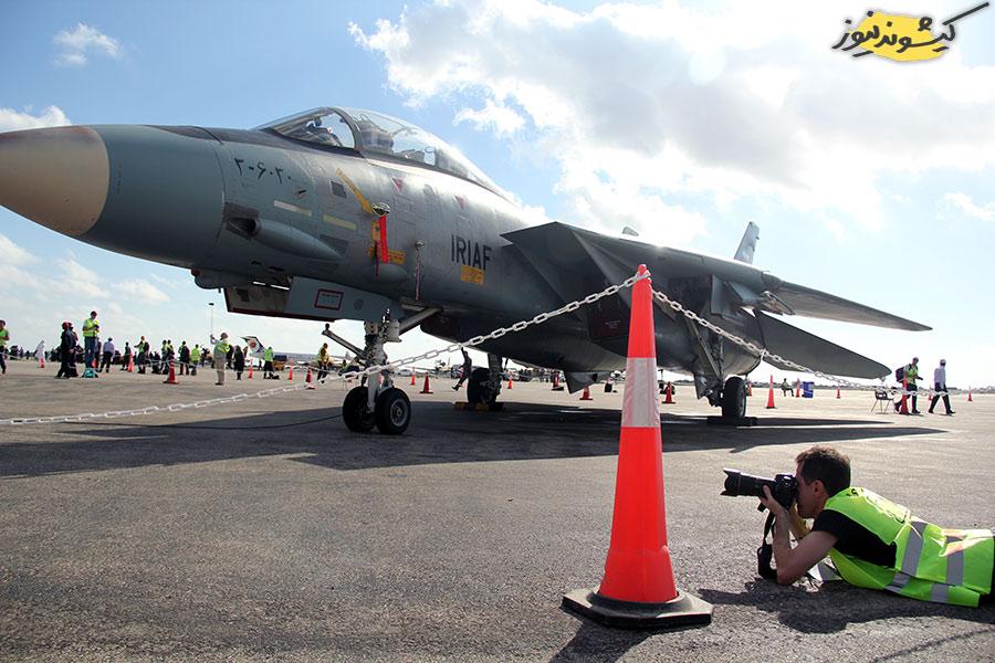 پرواز تامکتهای F14 در جزیره کیش + عکس و فیلم