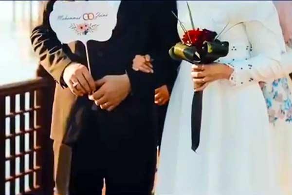 فیلم | جشن عروسی زوجهای لبنانی در هتل ترنج