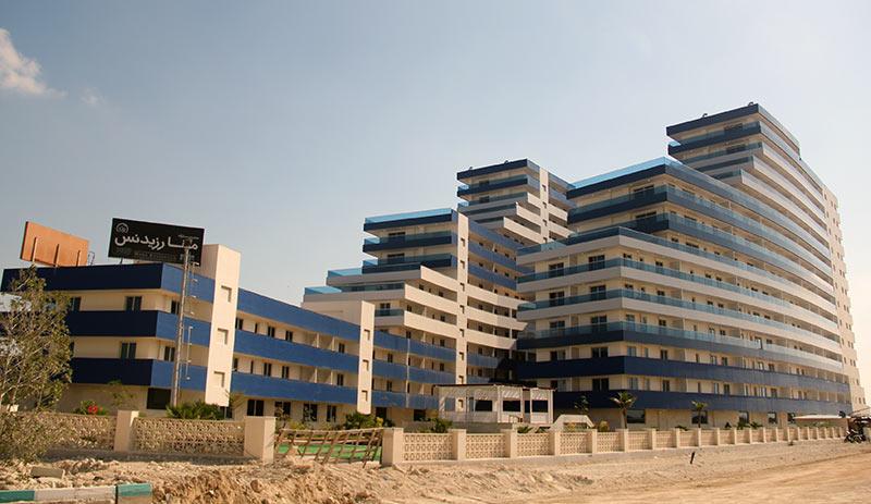 افتتاح پروژه مسکونی ۲۷۱ واحدی مینا رزیدنس + تصاویر