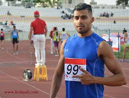 کسب مقام نخست علی (نبیل) خدیور در ماده ۴۰۰ متر