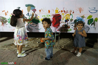 برپایی پیاده راه هنر و هر پنجشنبه نقاشی پنجشنبه 19 شهریور + تصاویر