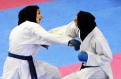 درخشش بانوان کاراته کای کیش در جایگاه سوم مسابقات قهرمان کشوری