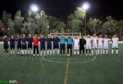 تصاویر / برگزاری فینال مسابقات فوتبال جام ادارات کیش