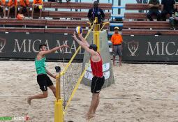 برگزاری مسابقات والیبال ساحلی ویژه آقایان در کیش