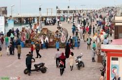 هتل های کیش پذیرای بیش از ۳ هزار و۱۰۰ گردشگر در ششم فروردین