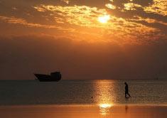 تصاویر بسیار زیبا از کلبه هور کیش