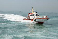 ویدئو | رژه شناورهای دریایی کیش در روز ٢٢ بهمن