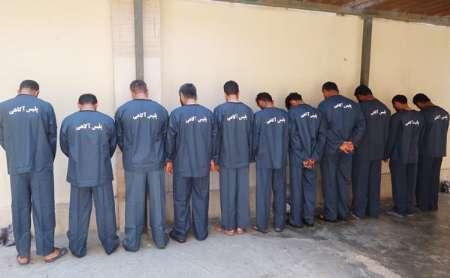 اعتراف سارقان مسلح آبهای استان هرمزگان و بوشهر به جرم خود