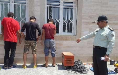 اعضای باند سرقت اموال در جزیره کیش دستگیر شدند