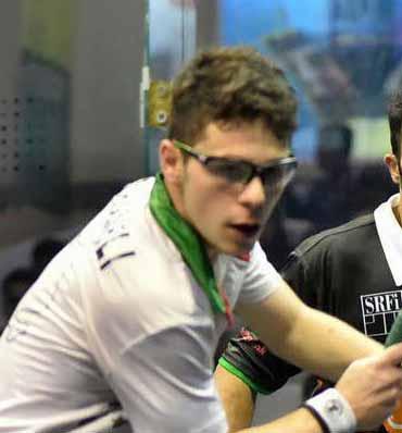 علیرضا شاملی به اردوی تیم ملی اسکواش دعوت شد