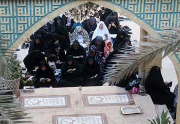 تصاویر/مراسم دعای عرفه در مسجد امام حسن مجتبی(ع)