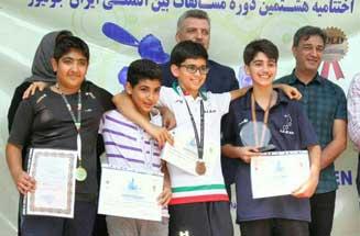 کسب ۳ طلا، ۱ نقره و ۳ برنز سهم جزیره کیش از مسابقات ایران جونیور اسکواش