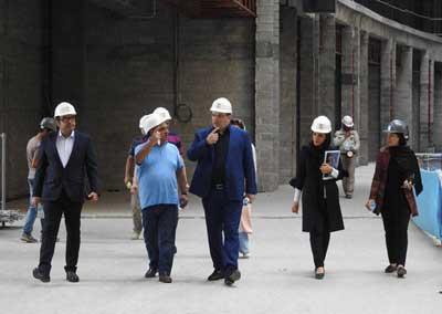 بازدید اصحاب رسانه کیش از دو شرکت تولید کننده تجهیزات حفاری چاه های نفتی+ تصاویر