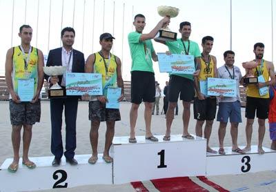 قهرمانی میکامال کیش در رقابتهای لیگ برتر والیبال ساحلی کشور +حواشی، فیلم و عکس