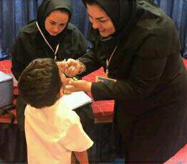 طرح ایمنسازی فلج اطفال در کیش آغاز میشود