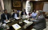 نشست مدیرعامل سازمان منطقه آزاد کیش با فعالان حوزه بیمه در کیش