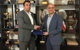 امضای تفاهم نامه همکاری بین هیات فوتبال کیش و باشگاه استقلال