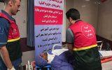 مانور آمادگی مقابله با حوادث و بلایا در بیمارستان کیش برگزار شد