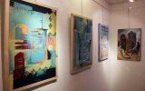 برگزاری نمایشگاه نقاشی گروهی با محوریت الیاف در کیش