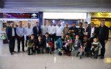 کسب مدالهای رنگارنگ ورزشکاران کیش در مسابقات کیک بوکسینگ کشور