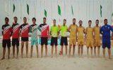 قهرمانی دریابانی در مسابقات فوتبال ساحلی