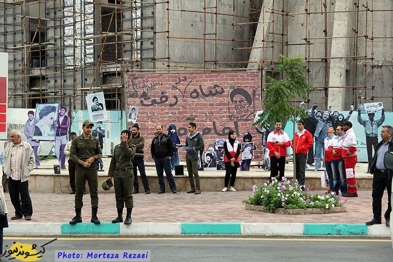 تصاویر راهپیمایی ۲۲ بهمن ۹۷ در جزیره کیش