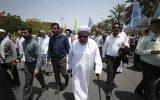 تصاویر راهپیمایی روز قدس ۹۸ در جزیره کیش