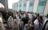 نماز عید فطر در کیش + تصاویر