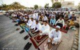 تصاویر | نماز عید فطر اهل سنت جزیره کیش