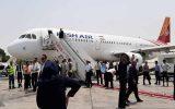 انجام نخستین پرواز داخلی از فرودگاه امام خمینی(ره) به کیش