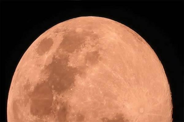 فیلم | سه دقیقه و پنجاه و شش ثانیه با ابَر ماه از زاویه دید کیش