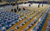 توزیع ۱۵۰۰ بسته معیشتی ۵۰۰هزار تومانی + فیلم