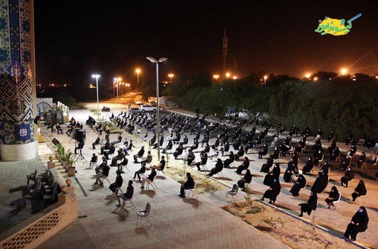 گزارش تصویری | شب عاشورای حسینی در مسجد حضرت زینب(س) کیش