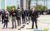 گزارش تصویری | مراسم ظهر عاشورا در کیش