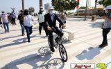 فعالیت دوچرخههای هوشمند در جزیره کیش + عکس