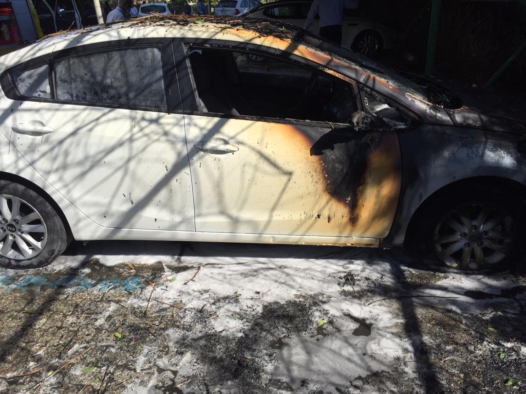 جزئیات حادثه آتش سوزی شهر آفتاب/ چهار خودرو طعمه حریق شد