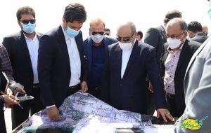 حضور دو روزه دبیر جدید شورایعالی مناطق آزاد در کیش + عکس
